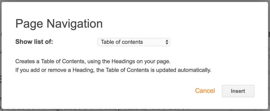 table-of-contents-widget