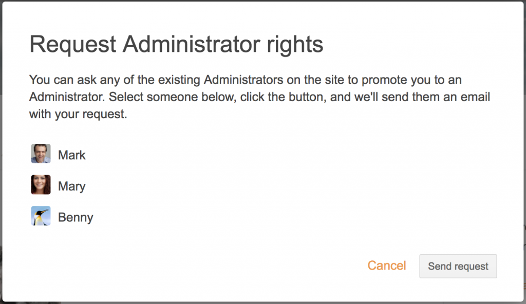 request-administrator-rights-intranet